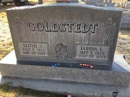 GOLDSTEDT, DONNA L - Dawes County, Nebraska | DONNA L GOLDSTEDT - Nebraska Gravestone Photos