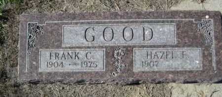 GOOD, FRANK C. - Dawes County, Nebraska   FRANK C. GOOD - Nebraska Gravestone Photos