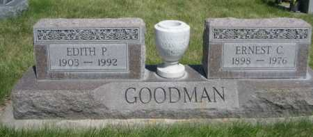 GOODMAN, EDITH P. - Dawes County, Nebraska | EDITH P. GOODMAN - Nebraska Gravestone Photos