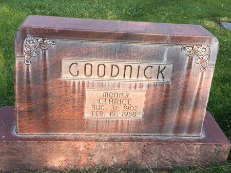 GOODNICK, CLARICE - Dawes County, Nebraska | CLARICE GOODNICK - Nebraska Gravestone Photos