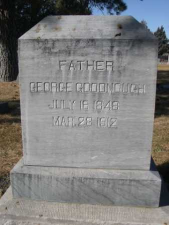 GOODNOUGH, GEORGE - Dawes County, Nebraska | GEORGE GOODNOUGH - Nebraska Gravestone Photos