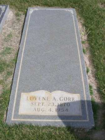 GORR, LOVENE A. - Dawes County, Nebraska | LOVENE A. GORR - Nebraska Gravestone Photos