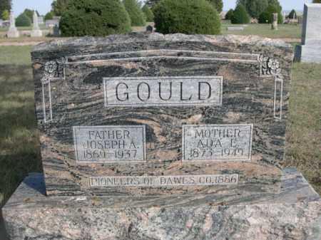 GOULD, ADA E. - Dawes County, Nebraska | ADA E. GOULD - Nebraska Gravestone Photos