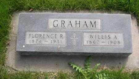 GRAHAM, FLORENCE R. - Dawes County, Nebraska | FLORENCE R. GRAHAM - Nebraska Gravestone Photos