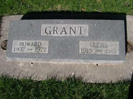 GRANT, HOWARD - Dawes County, Nebraska | HOWARD GRANT - Nebraska Gravestone Photos
