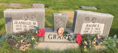 GRANT, JEANELLE M. - Dawes County, Nebraska | JEANELLE M. GRANT - Nebraska Gravestone Photos