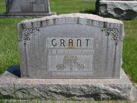 GRANT, MINNIE - Dawes County, Nebraska | MINNIE GRANT - Nebraska Gravestone Photos