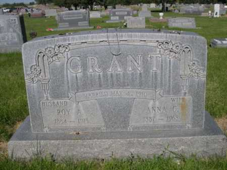 GRANT, ROY A. - Dawes County, Nebraska | ROY A. GRANT - Nebraska Gravestone Photos
