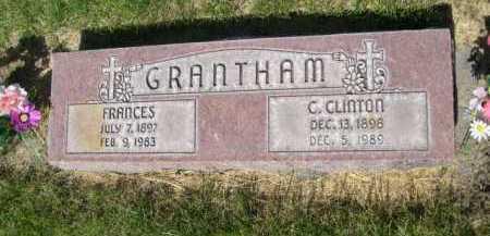 GRANTHAM, FRANCES - Dawes County, Nebraska   FRANCES GRANTHAM - Nebraska Gravestone Photos