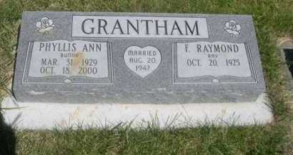 GRANTHAM, E. RAYMOND - Dawes County, Nebraska | E. RAYMOND GRANTHAM - Nebraska Gravestone Photos