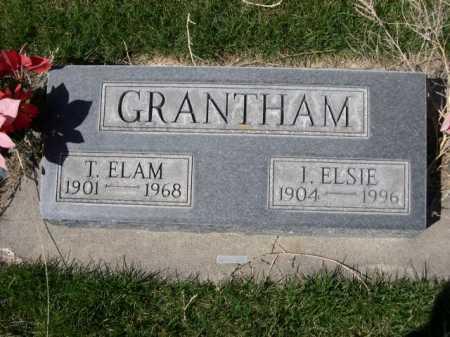 GRANTHAM, I. ELSIE - Dawes County, Nebraska | I. ELSIE GRANTHAM - Nebraska Gravestone Photos