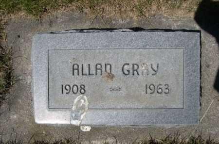 GRAY, ALLAN - Dawes County, Nebraska | ALLAN GRAY - Nebraska Gravestone Photos
