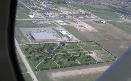 *GREENWOOD CEMETERY, BIRD'S EYE VIEW - Dawes County, Nebraska | BIRD'S EYE VIEW *GREENWOOD CEMETERY - Nebraska Gravestone Photos