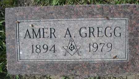 GREGG, AMER A. - Dawes County, Nebraska | AMER A. GREGG - Nebraska Gravestone Photos