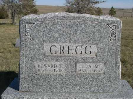 GREGG, EDWARD T. - Dawes County, Nebraska | EDWARD T. GREGG - Nebraska Gravestone Photos