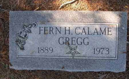 CALAME GREGG, FERN H. - Dawes County, Nebraska | FERN H. CALAME GREGG - Nebraska Gravestone Photos