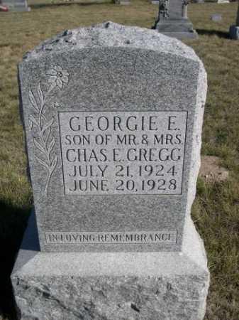 GREGG, GEORGIE E. - Dawes County, Nebraska   GEORGIE E. GREGG - Nebraska Gravestone Photos