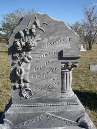 GREGG, HARRY T. - Dawes County, Nebraska   HARRY T. GREGG - Nebraska Gravestone Photos