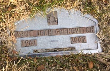 GRENEVITCH, CAROL JEAN - Dawes County, Nebraska | CAROL JEAN GRENEVITCH - Nebraska Gravestone Photos