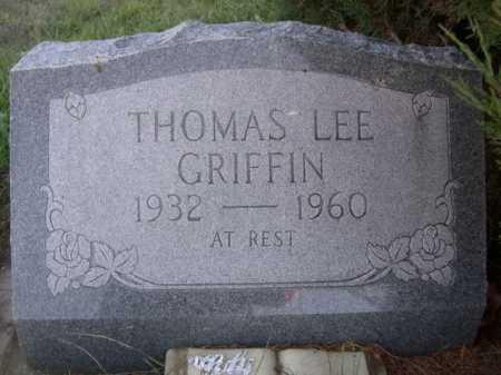 GRIFFIN, THOMAS LEE - Dawes County, Nebraska | THOMAS LEE GRIFFIN - Nebraska Gravestone Photos