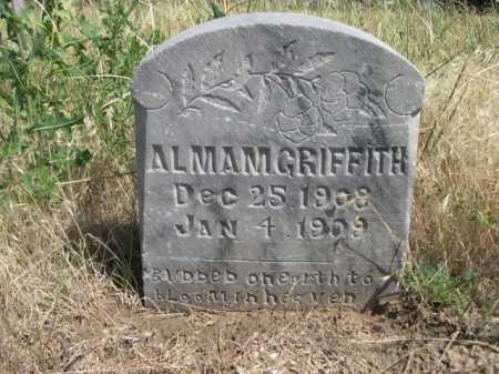 GRIFFITH, ALMAM - Dawes County, Nebraska | ALMAM GRIFFITH - Nebraska Gravestone Photos