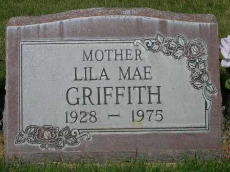 GRIFFITH, LILA MAE - Dawes County, Nebraska | LILA MAE GRIFFITH - Nebraska Gravestone Photos