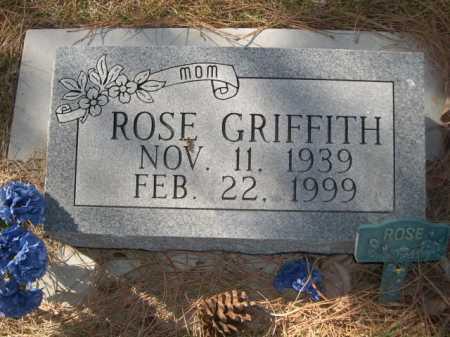 GRIFFITH, ROSE - Dawes County, Nebraska | ROSE GRIFFITH - Nebraska Gravestone Photos