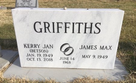 BETSON GRIFFITHS, KERRY ANN - Dawes County, Nebraska | KERRY ANN BETSON GRIFFITHS - Nebraska Gravestone Photos