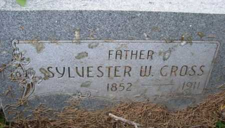 CROSS, SYLVESTER W. - Dawes County, Nebraska | SYLVESTER W. CROSS - Nebraska Gravestone Photos