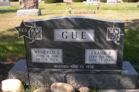 GUE, FRANK R. - Dawes County, Nebraska | FRANK R. GUE - Nebraska Gravestone Photos