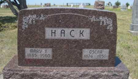 HACK, OSCAR - Dawes County, Nebraska   OSCAR HACK - Nebraska Gravestone Photos