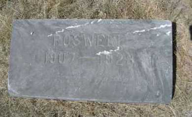 HACK, ROSWELL - Dawes County, Nebraska | ROSWELL HACK - Nebraska Gravestone Photos
