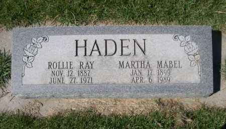 HADEN, MARTHA MABEL - Dawes County, Nebraska | MARTHA MABEL HADEN - Nebraska Gravestone Photos
