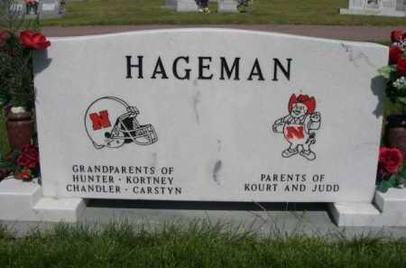 HAGEMAN, DIANA - Dawes County, Nebraska | DIANA HAGEMAN - Nebraska Gravestone Photos