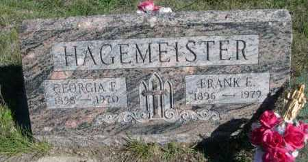 HAGEMEISTER, GEORGIA F. - Dawes County, Nebraska | GEORGIA F. HAGEMEISTER - Nebraska Gravestone Photos