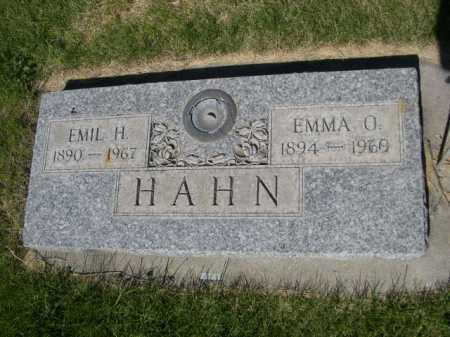 HAHN, EMIL H. - Dawes County, Nebraska | EMIL H. HAHN - Nebraska Gravestone Photos