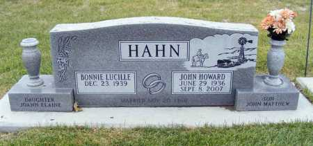 HAHN, JOHN HOWARD - Dawes County, Nebraska | JOHN HOWARD HAHN - Nebraska Gravestone Photos