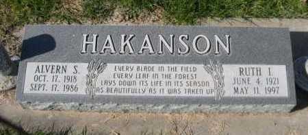 HAKANSON, ALVERN S. - Dawes County, Nebraska | ALVERN S. HAKANSON - Nebraska Gravestone Photos