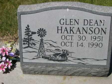 HAKANSON, GLEN DEAN - Dawes County, Nebraska | GLEN DEAN HAKANSON - Nebraska Gravestone Photos