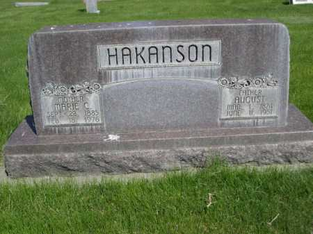 HAKANSON, AUGUST - Dawes County, Nebraska | AUGUST HAKANSON - Nebraska Gravestone Photos