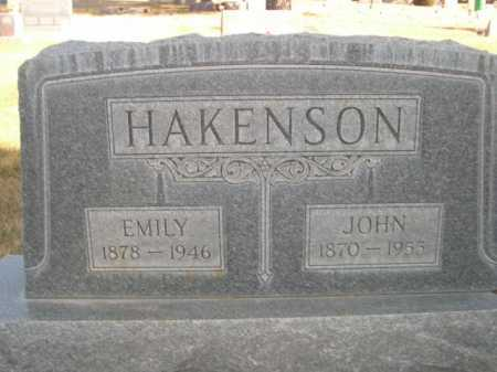 HAKANSON, JOHN - Dawes County, Nebraska | JOHN HAKANSON - Nebraska Gravestone Photos