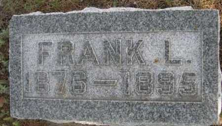 HALL, FRANK L. - Dawes County, Nebraska | FRANK L. HALL - Nebraska Gravestone Photos