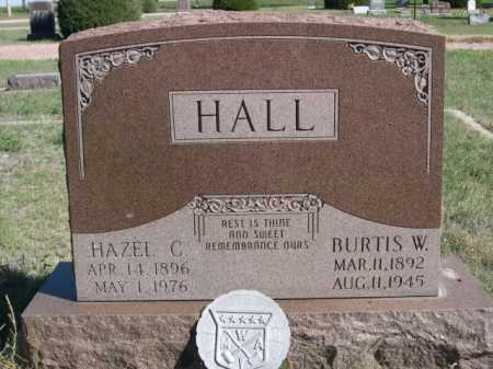 HALL, BURTIS W. - Dawes County, Nebraska | BURTIS W. HALL - Nebraska Gravestone Photos
