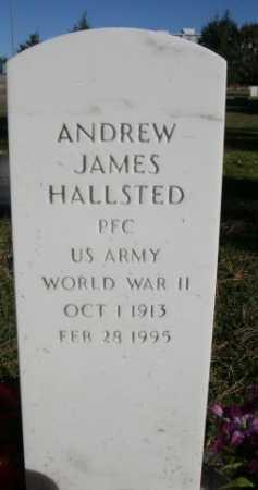 HALLSTED, ANDREW JAMES - Dawes County, Nebraska | ANDREW JAMES HALLSTED - Nebraska Gravestone Photos