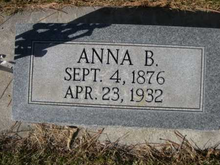 HALLSTED, ANNA B. - Dawes County, Nebraska | ANNA B. HALLSTED - Nebraska Gravestone Photos