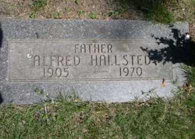 HALLSTED, ALFRED - Dawes County, Nebraska   ALFRED HALLSTED - Nebraska Gravestone Photos