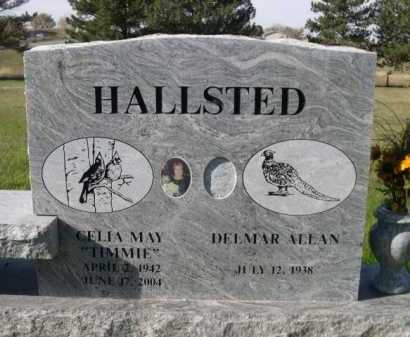 "HALLSTED, CELIA MAY ""TIMMIE"" - Dawes County, Nebraska 