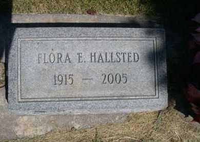 HALLSTED, FLORA E. - Dawes County, Nebraska | FLORA E. HALLSTED - Nebraska Gravestone Photos