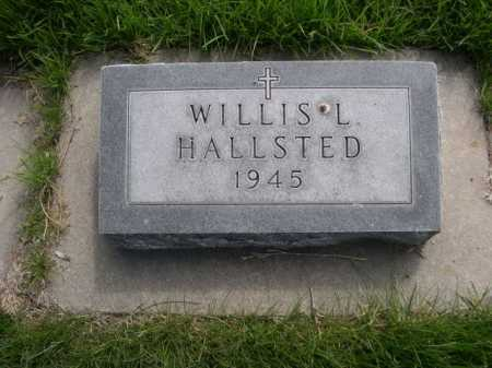 HALLSTED, WILLIS L. - Dawes County, Nebraska | WILLIS L. HALLSTED - Nebraska Gravestone Photos