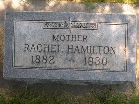 HAMILTON, RACHEL - Dawes County, Nebraska | RACHEL HAMILTON - Nebraska Gravestone Photos